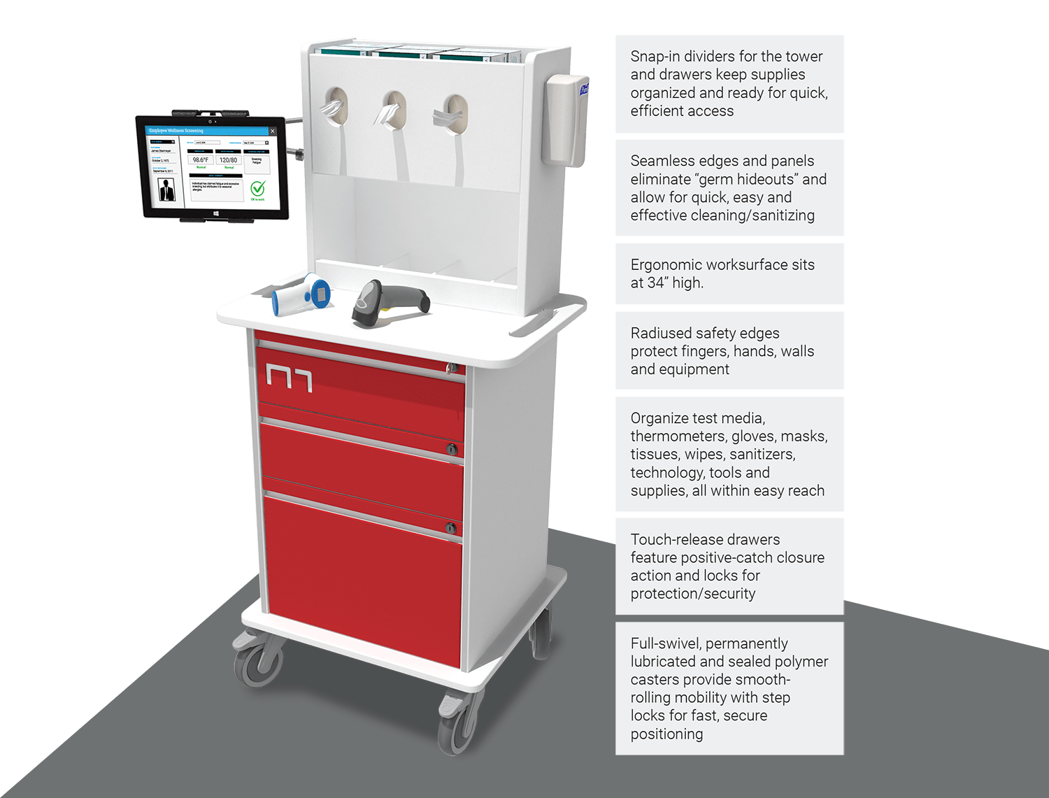 Agile Wellness Cart