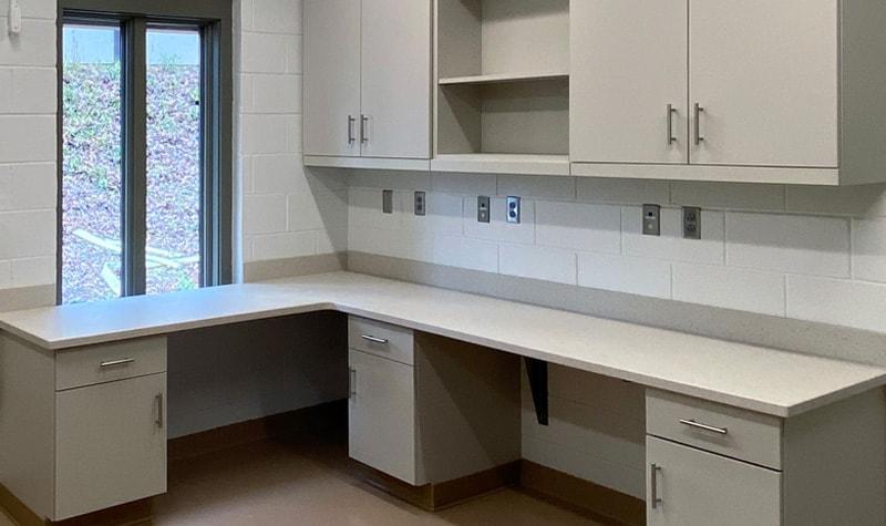 modular casework veterinary hospital zoo
